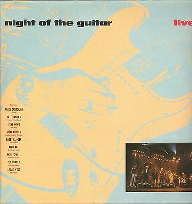 VA - Night Of The Guitar Live !          2LP       VG++