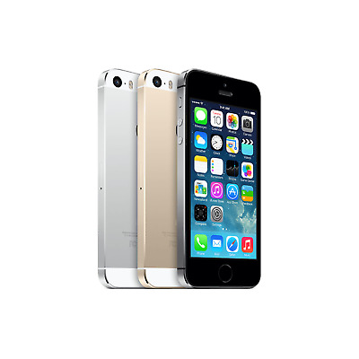 Apple iPhone 5S - 16GB 32GB 64GB - Unlocked - All Colours - 12 MONTH WARRANTY