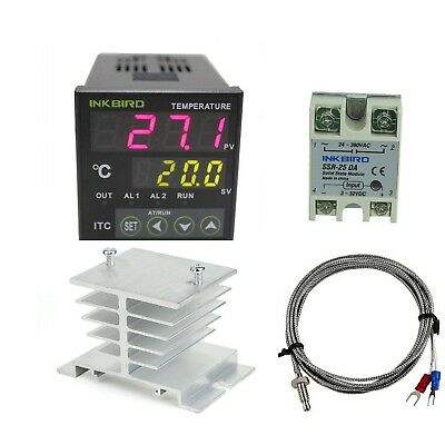 Inkbird Ac 100 - 240v Itc-100vh Digital PID Thermostat Temperature Controller...