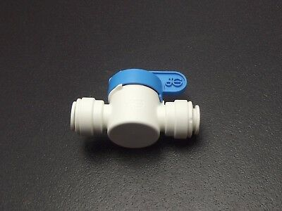 3/8 Bore Food Grade Shut off Valve for Drinking Water, Beer Etc, John Guest 3/8