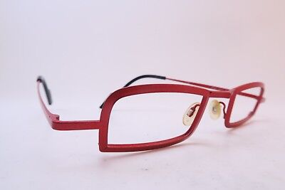 Vintage Theo eyeglasses frames red Mod PERU made in Belgium EXC *****