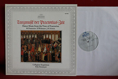LP Archiv: Dance music from the time of PRAETORIUS; NEUMEYER, Terpsichore; NM