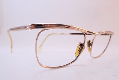 Vintage 50s eyeglasses frames gold filled OPTURA 1-25 12CT 48-22 West Germany