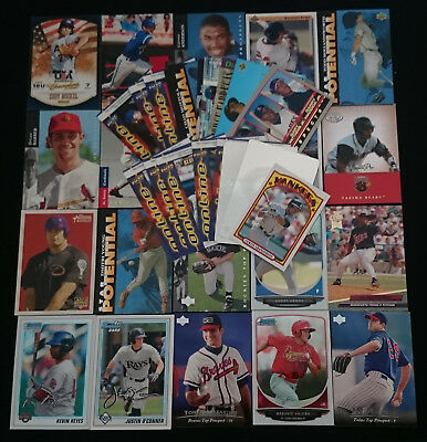Bulk lot of 41 x Assorted Baseball Rookie and Insert Trading Cards 1992 - 2013