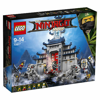 LEGO NINJAGO Ultimativ ultimatives Tempel-Versteck (70617)