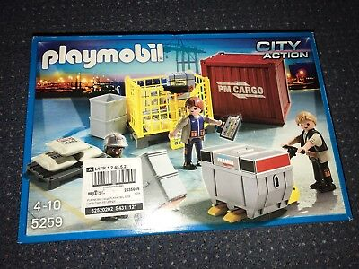 playmobil city action Container