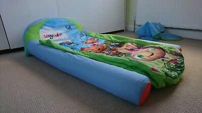 Waybuloo My First Ready Bed, inflatable sleepover bed, toddler, small child