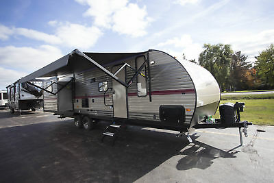 New 2018 Forest River Grey Wolf 27DBS Travel Trailer Camper RV w/ Bunkhouse