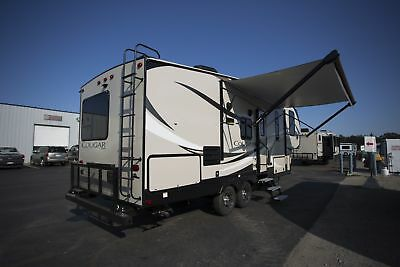 Super Sale New 2018 Cougar Half Ton 25Res Fifth Wheel Rear Entertainment Camper
