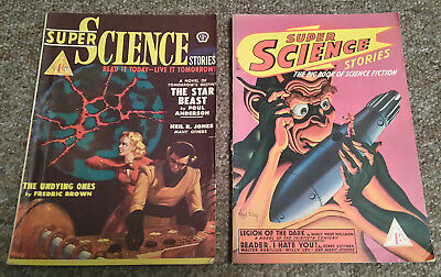Super Science Stories pulp magazines