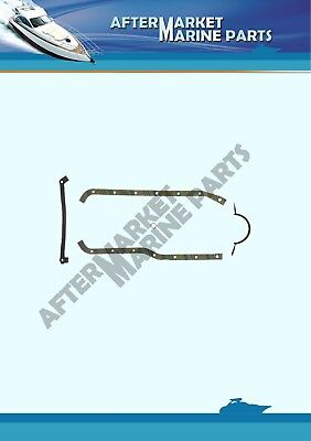 Oil pan gasket for 2.5L, 3.0L Mercruiser, OMC, replaces: 27-52144, 3853343