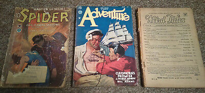 Assorted pulp magazines