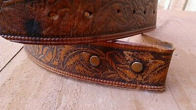Baby/toddler embossed leather belt  (NO BUCKLE ) size 22