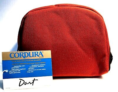 Cordura Nylon Dart Maroon Red Large Reel Case with Line Dispensing Port