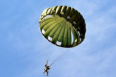 SF-10A Complete Parachute System, with the SLCP Reserve, Airworthy