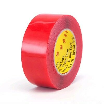 10mm Strong Double Sided Foam Tape Clear Self Adhesive Car Trim Badge Body 3M