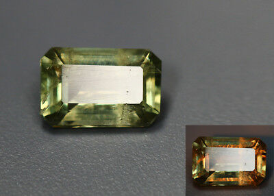 3.26 Cts_Gemstone Collection_100 % Natural Color Change Diaspore_Turkey