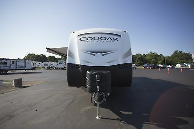 Best Pricing Of The Year 2018 Cougar Half Ton 29Bhs Travel Trailer Bunkhouse Rv