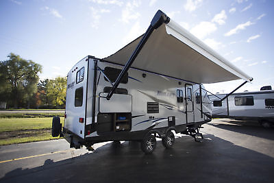 Lowest Pricing Of The Year 2018 Bullet 243Bhs Travel Trailer Bunkhouse Camper Rv