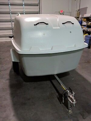 GearWagon 125 light weight enclosed / open trailer for hauling or even camping