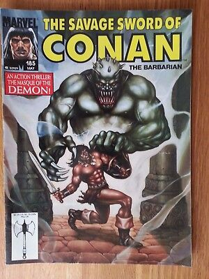 savage sword of conan #'s 185