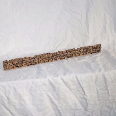 Department 56 Stone Wall Fence - 3 Sections