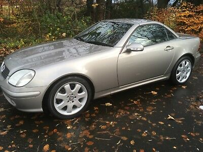 Mercedes SLK 320 Auto, Immaculate & 34680 miles