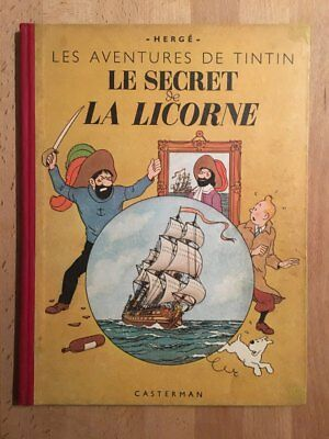 Hergé – Tintin - Le secret de la Licorne - Edition Originale (1943) - BE