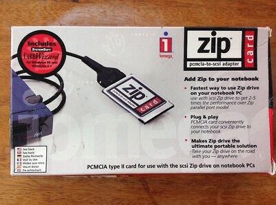 Iomega Zip Pcmcia To Scsi Adapter. New.