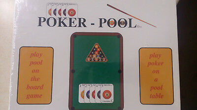 Poker- Pool Game - The best of both games