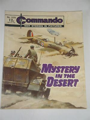 Commando - War Stories In Pictures - Mystery In The Desert Issue No. 1370