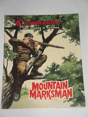 Commando - War Stories In Pictures - Mountain Marksman Issue No. 1222