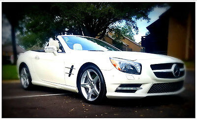 2013 Mercedes-Benz SL-Class Designo Edition 1 of 200 from Germany Mercedes SL 550 Designo Edition