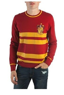 Harry Potter Gryffindor House Mens Jacquard Sweater 4495 Picclick