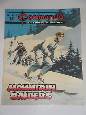 Commando - War Stories In Pictures - Mountain Raiders Issue No. 1712