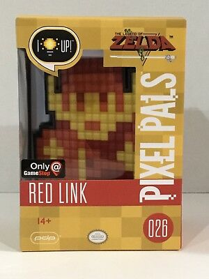 PDP Pixel Pals The Legend of Zelda Red Link Nintendo Light-Up 026