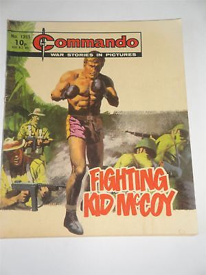 Commando - War Stories In Pictures - Fighting Kid McCoy Issue No. 1351