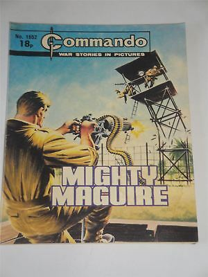 Commando - War Stories In Pictures - Mighty Maguire Issue No. 1652