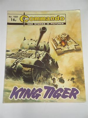 Commando - War Stories In Pictures - King Tiger Issue No. 1602