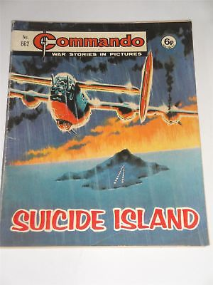 Commando - War Stories In Pictures - Suicide Island Issue No. 862