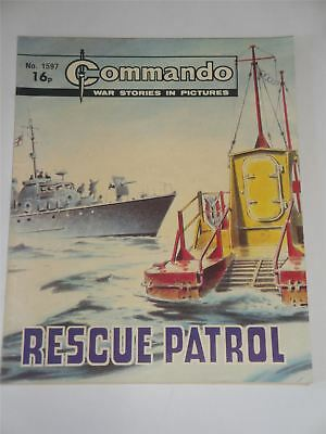Commando - War Stories In Pictures - Rescue Patrol Issue No. 1597
