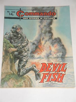 Commando - War Stories In Pictures - Devil Fish Issue No. 1538