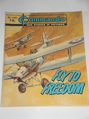 Commando - War Stories In Pictures - Fly To Freedom Issue No. 1462