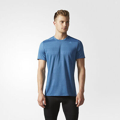 dbbe693bd8a2d ADIDAS S97944 MEN Running Supernova tee SS shirts blue -  29.97 ...