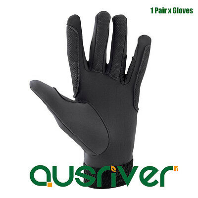 Xmas Clearance Lightweight Schooling Riding Driving Gloves Breathable Beginner