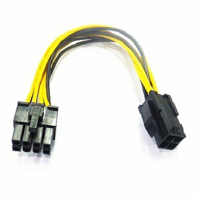 PC Motherboard ATX Power Adapter Wires 8-Pin EPS Connected To 4-Pin For Molex