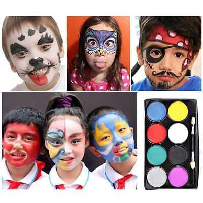 Makeup Cosplay Party Face Painting Flash Tattoo Face Body Paint Oil Painting new