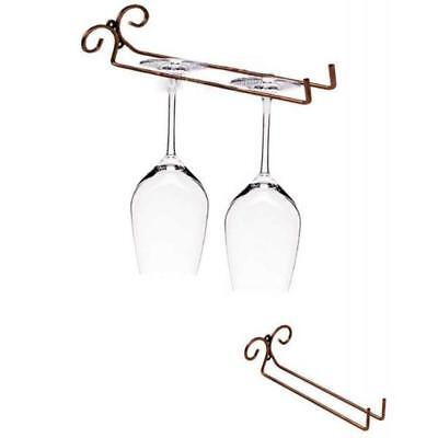 GLASS RACK Hanger Holder Wine Bar Hanging Wine Glass Kitchen Storage Rack