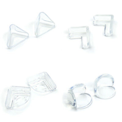 4/12pcs Clear Table Desk Corner Edge Guard Cushion Baby Safety Bumper Protector