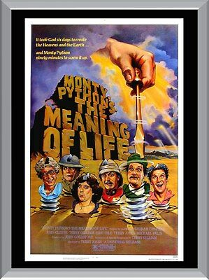 Monty Python's Meaning Of Life Movie A1 To A4 Size Poster Prints